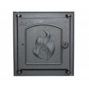 360 LK Дверца топочная глухая (250х280)