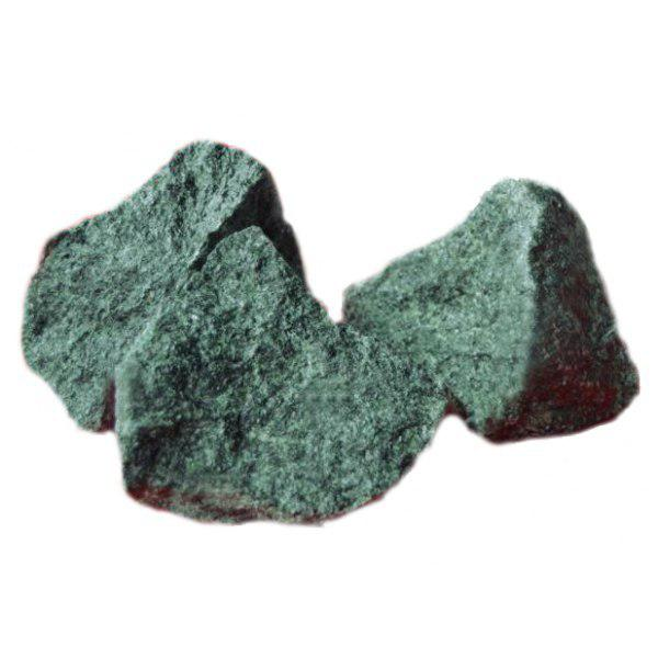 Камень Жадеит Чёрный принц колотый (коробка 10 кг)