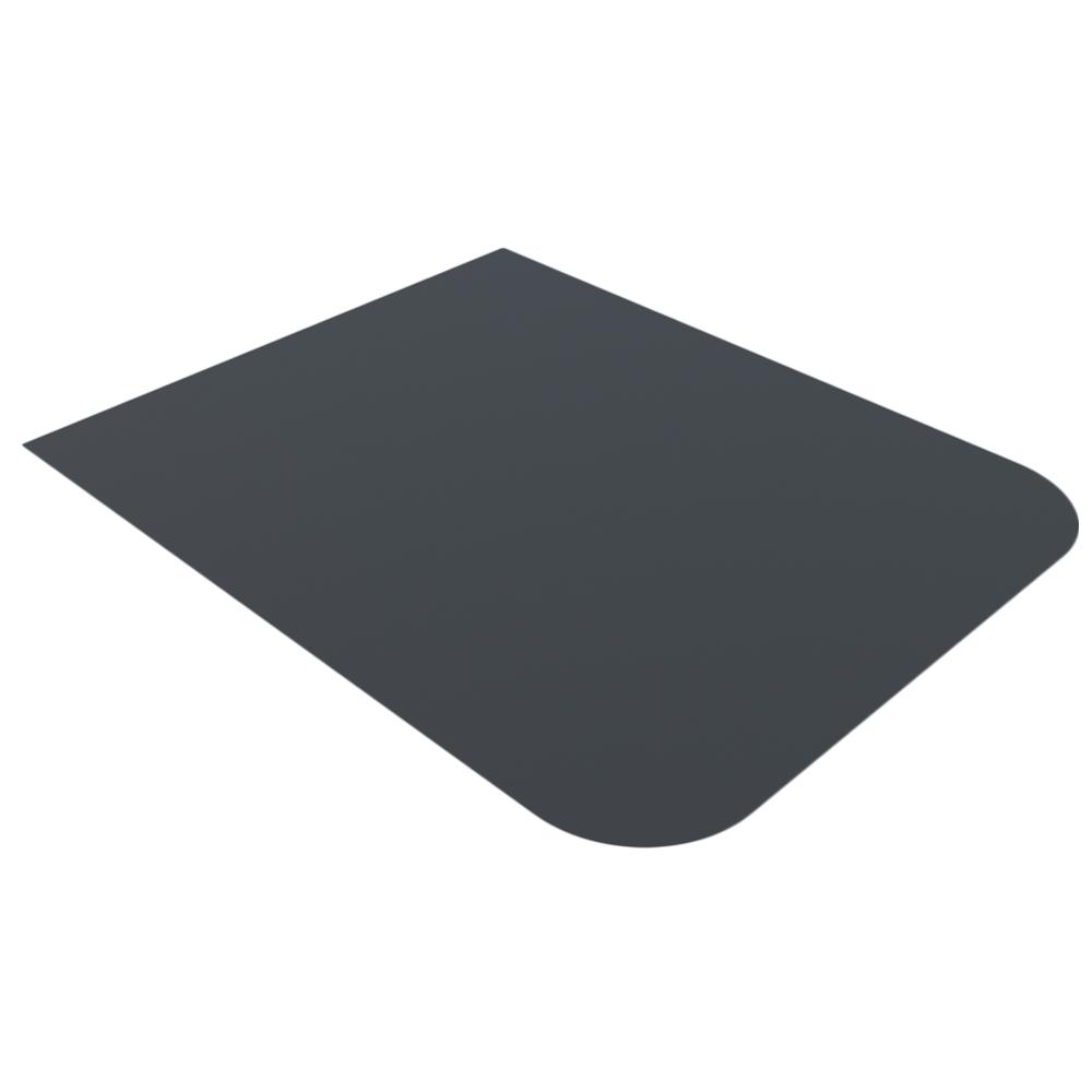 Лист напольный Везувий, 2мм, черный 1200*1000*2 R135