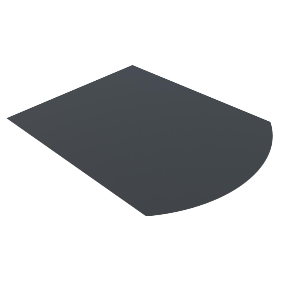 Лист напольный Везувий, 2мм, черный 1200*1000*2 R641