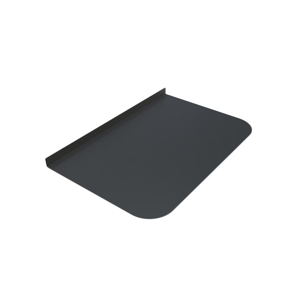 Лист предтопочный Везувий, 2мм, черный 400*600*2 R135