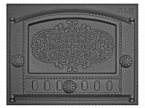 Дверка ДК-2Б (Р) каминная крашенная (с рисунком)