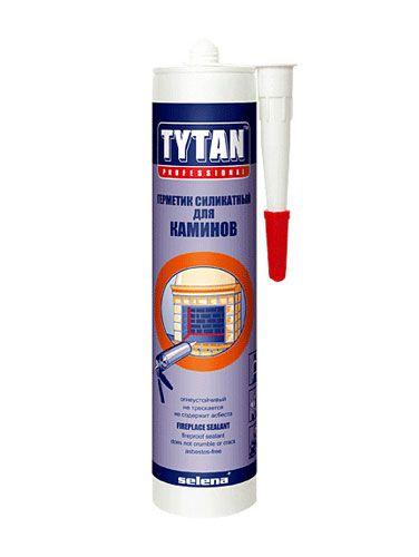 Герметик термостойкий 1500°С (черный) TYTAN 280мл