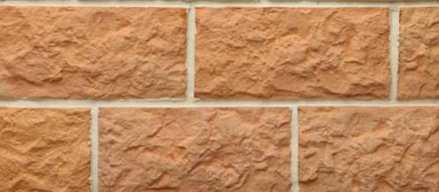 Плитка Терракот Рваный камень Макси прямая (263х123)*
