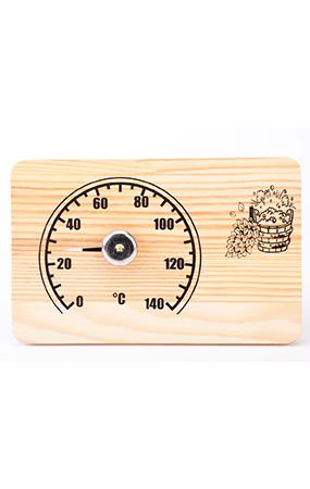 """Термометр для сауны СБО-2т банная станция """"прямоугольная"""""""