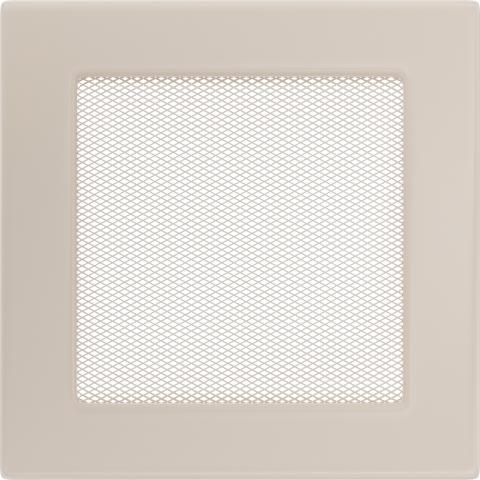 Вентиляционная решетка Кремовая (17*17) 17K