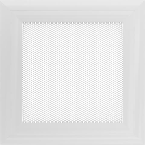 Вентиляционная решетка ОСКАР Белая (17*17) 17OB