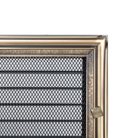 Вентиляционная решетка Рустик с задвижкой (17*30) 30RX