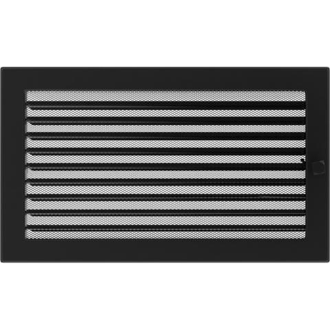Решетка Черная с задвижкой (22*37) 22/37CX