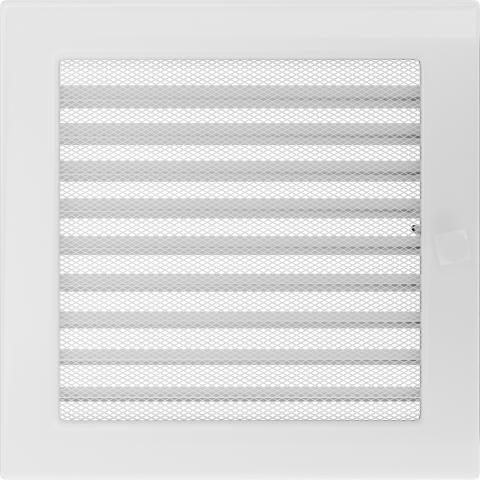 Решетка Белая с задвижкой (22*22) 22BX