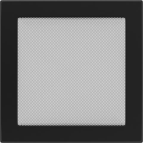 Вентиляционная решетка Черная (22*22) 22C