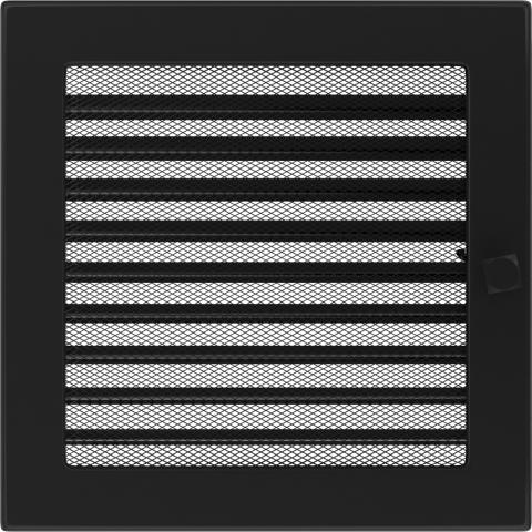 Решетка Черная с задвижкой (22*22) 22CX