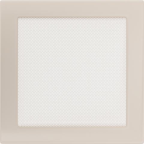 Вентиляционная решетка Кремовая (22*22) 22K