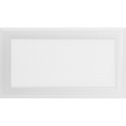 Вентиляционная решетка ОСКАР Белая (17*30) 30OB