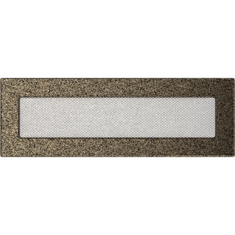 Вентиляционная решетка Черная/Золото (11*32) 32CZ