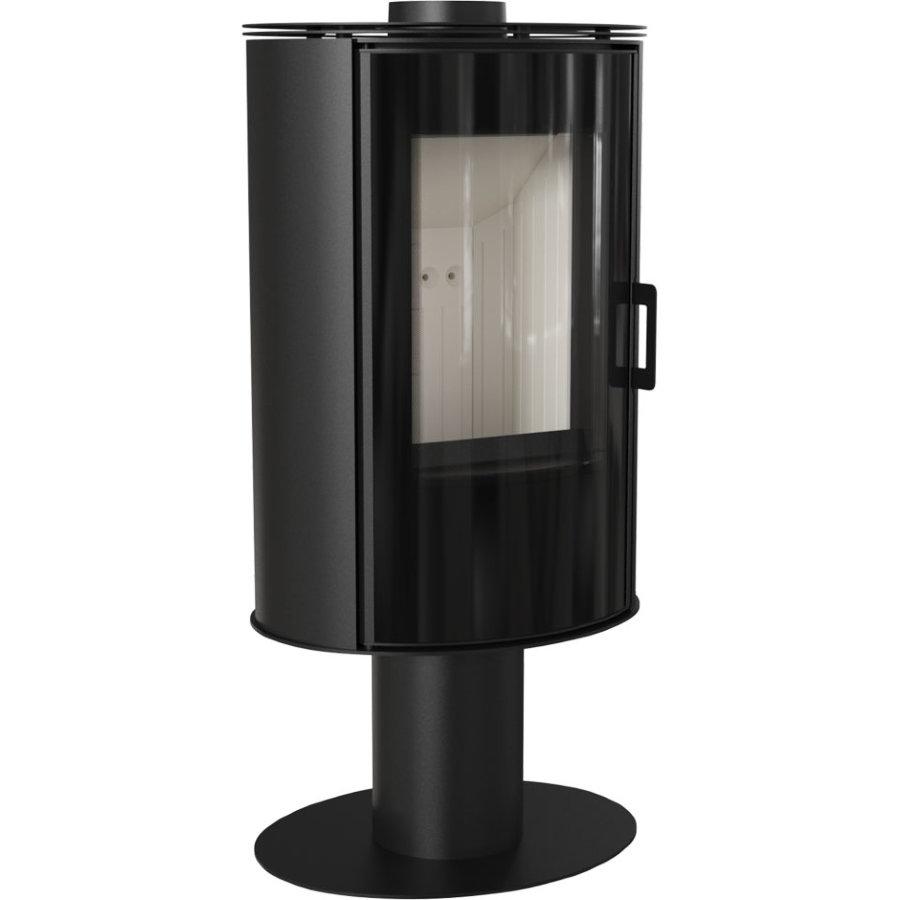 Печь-камин Kratki KOZA/AB/S/N/GLASS (сталь) (8 кВт)