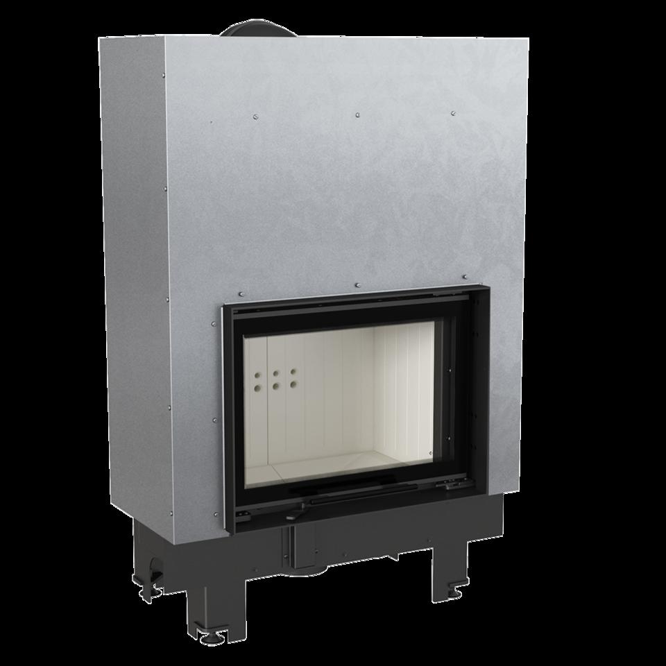 Каминная топка стальная MBM/G (10 кВт)