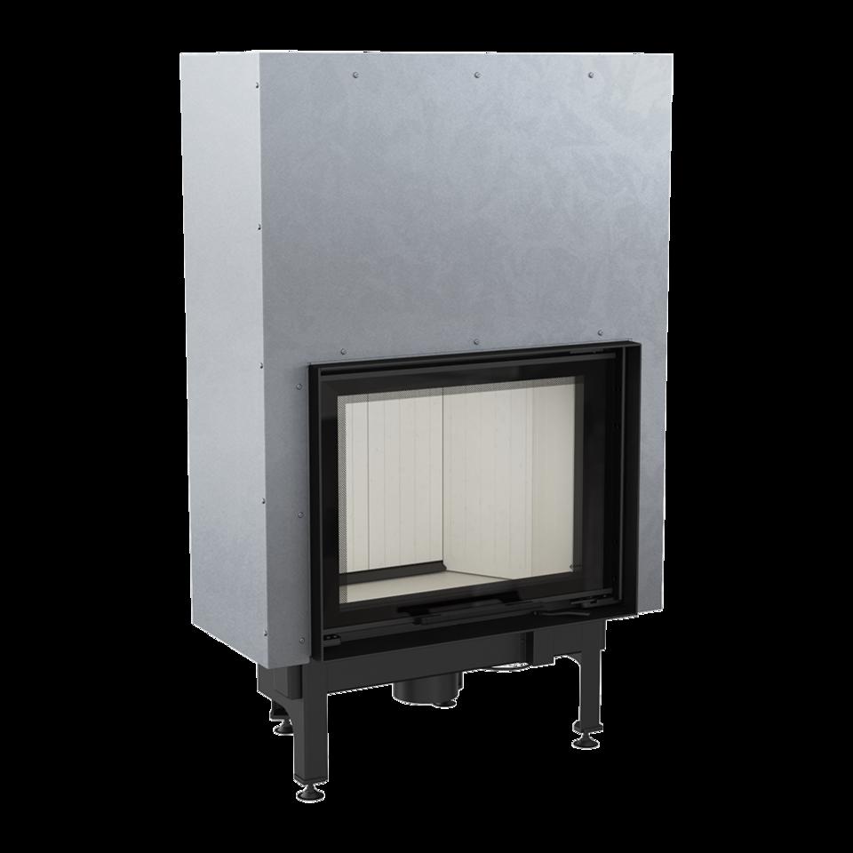 Каминная топка стальная NADIA/10/G (гильотина) (10 кВт)