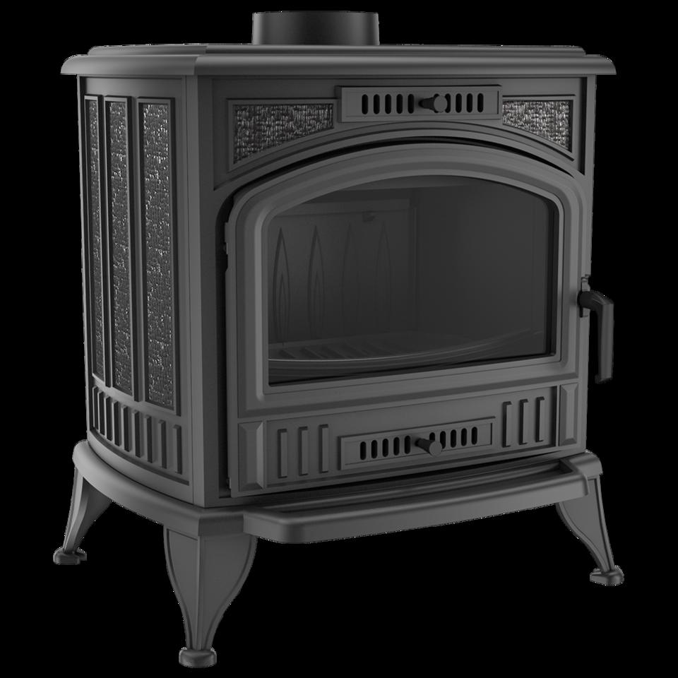Печь-камин чугунный KOZA/K6/150/PW/W с теплообменником