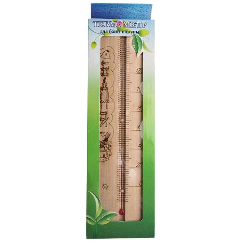 Термометр для сауны большой ТСС-4 Sauna (в коробке)