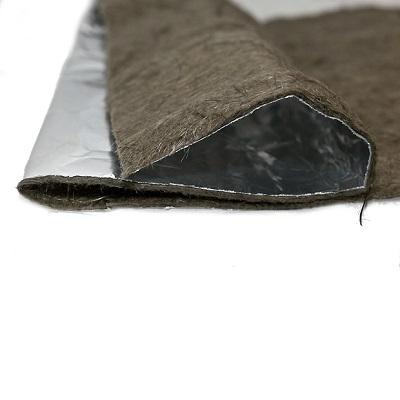 Базальтовый картон фольгированный 1000х600х10мм (3шт/уп) (Б)