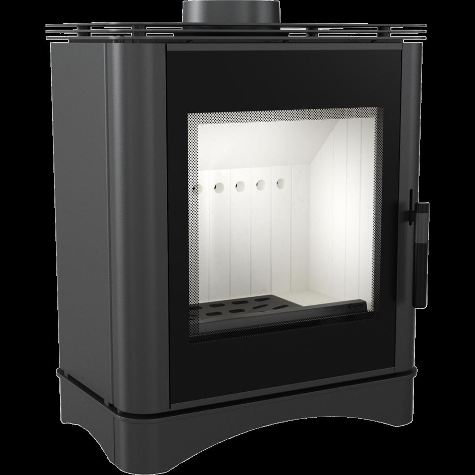 Печь-камин KOZA/VEGA/150 (6 кВт) 510*649*406мм